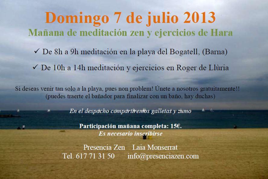Meditación domingo 7 julio 2013
